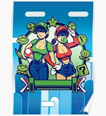 Mario Girls  Poster