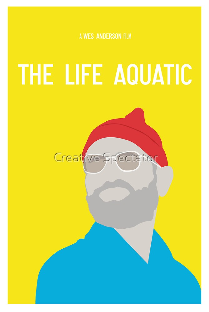 Bill Murray The Life Aquatic  by Creative Spectator