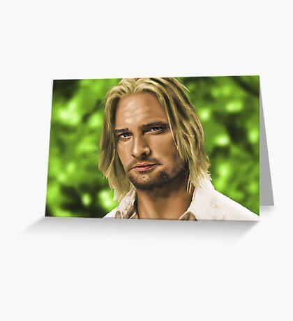 James 'Sawyer' Ford Greeting Card