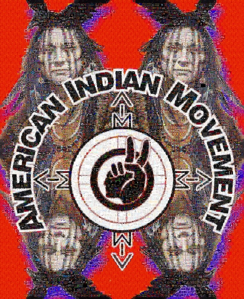 American Indian Movement: Chief Black Crow by FRAME