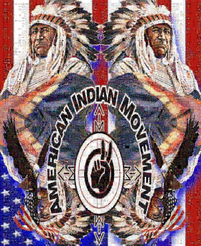 American Indian Movement: A Sioux Chief  by FRAME