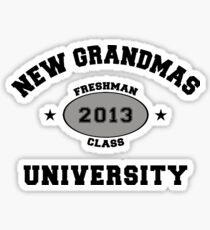 New Grandma 2013 Sticker
