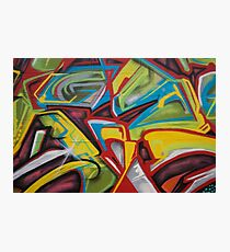 Hood Graffiti Photographic Print
