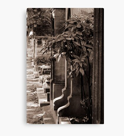 Cemetery of Montmartre Canvas Print
