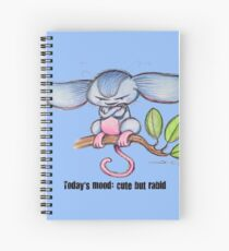 Cute Tree Mouse Spiral Notebook