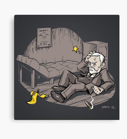 Freudian Slip (Print) Canvas Print