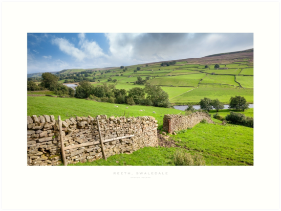 Reeth, Yorkshire Dales by Andrew Roland