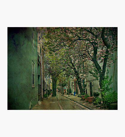 Through the Alley - Philadelphia Photographic Print