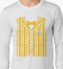 Dapper Dans Vest - Orange Long Sleeve T-Shirt