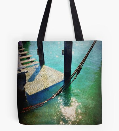 iPhoneography: Husky pier Tote Bag