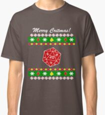Merry Critmas! Ugly Christmas Sweater Classic T-Shirt