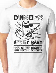 Dingoes Ate My Baby | Buffy The Vampire Slayer Band T-shirt Unisex T-Shirt