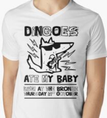 Dingoes Ate My Baby | Buffy The Vampire Slayer Band T-shirt Mens V-Neck T-Shirt