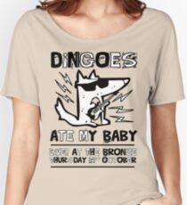 Dingoes Ate My Baby | Buffy The Vampire Slayer Band T-shirt Women's Relaxed Fit T-Shirt