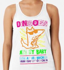 Dingoes Ate My Baby | Buffy The Vampire Slayer Band T-shirt [Neon] Racerback Tank Top