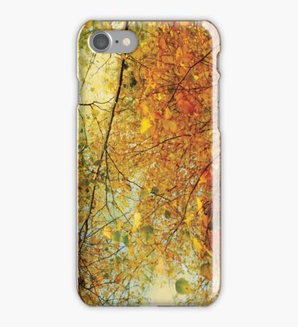 Autumn dreams iPhone Case/Skin