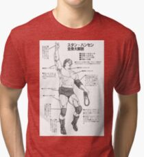 Stan Hansen - Anatomy of the Lariat Tri-blend T-Shirt