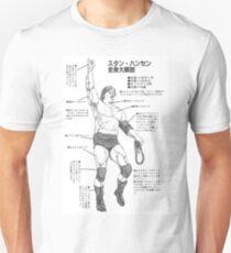Stan Hansen - Anatomy of the Lariat Unisex T-Shirt