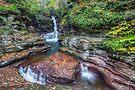 Adams Falls October 2012 by Aaron Campbell