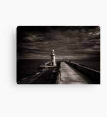 Folkestone lighthouse Canvas Print