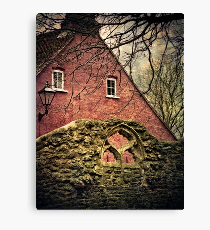 Through the Arched Window Canvas Print