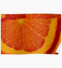 Deep Orange Poster