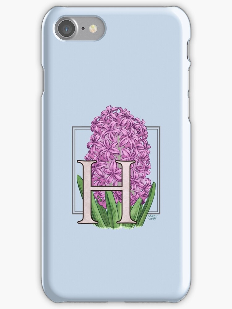 H is for Hyacinth - full image by Stephanie Smith