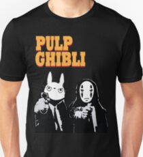 Pulp Ghibli - Studio Ghibli and Pulp Fiction Unisex T-Shirt