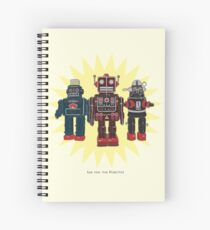 We Are The Robots Spiral Notebook