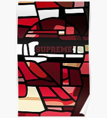 Stained Supreme Poster
