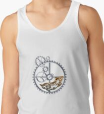 Industrial Silver Dog Tank Top