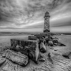 Welsh Light House by Adrian Evans