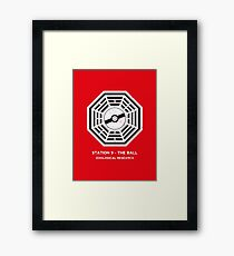 Station 9 - The Ball Framed Print