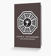 Station 8 - The Facehugger Greeting Card