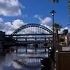 Newcastle Quayside by Timeless Prints