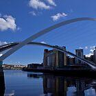 Millennium Bridge: Newcastle by Timeless Prints