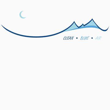 Clean Blue Air by ZingyLemonade