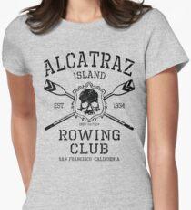 Alcatraz Rowing Club Women's Fitted T-Shirt