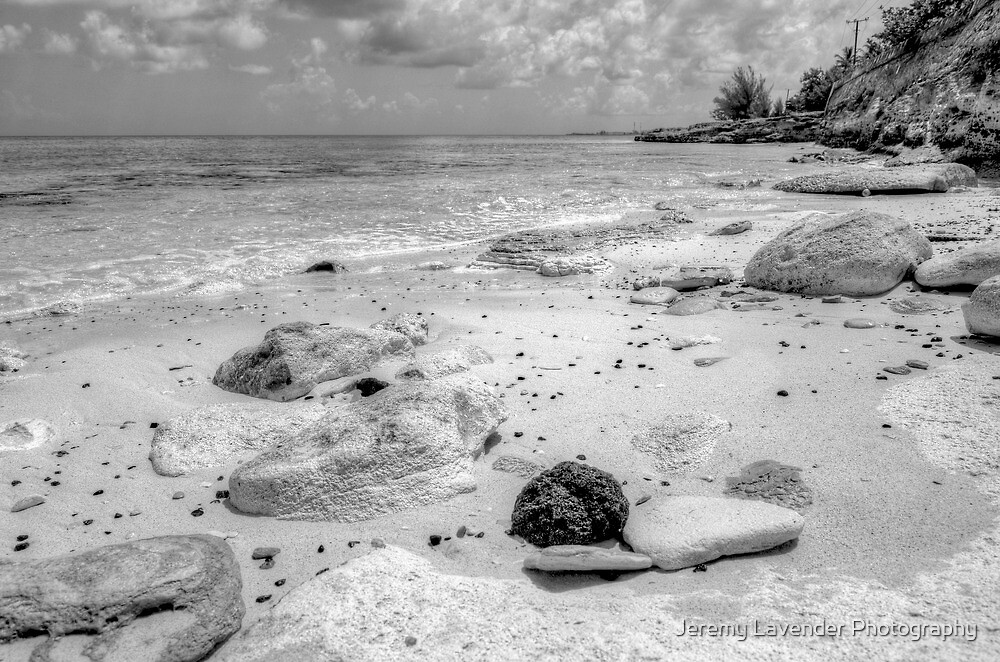 Beach in Western Nassau, The Bahamas by Jeremy Lavender Photography