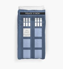 Tardis, Doctor Who Duvet Cover