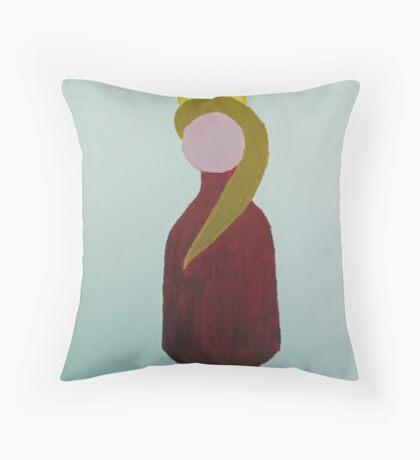 Red Queen Throw Pillow
