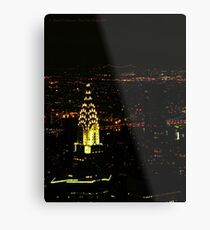 Chrysler Building (New York City, USA) Metal Print