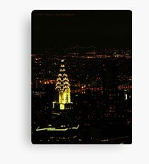 Chrysler Building (New York City, USA) Canvas Print