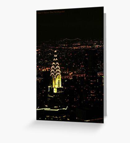 Chrysler Building (New York City, USA) Greeting Card