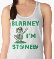 Irish Blarney I'm Stoned Women's Tank Top