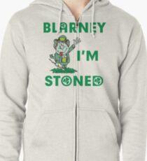 Irish Blarney I'm Stoned Zipped Hoodie
