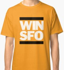 San Francisco Giants WIN SFO (adult size) Classic T-Shirt