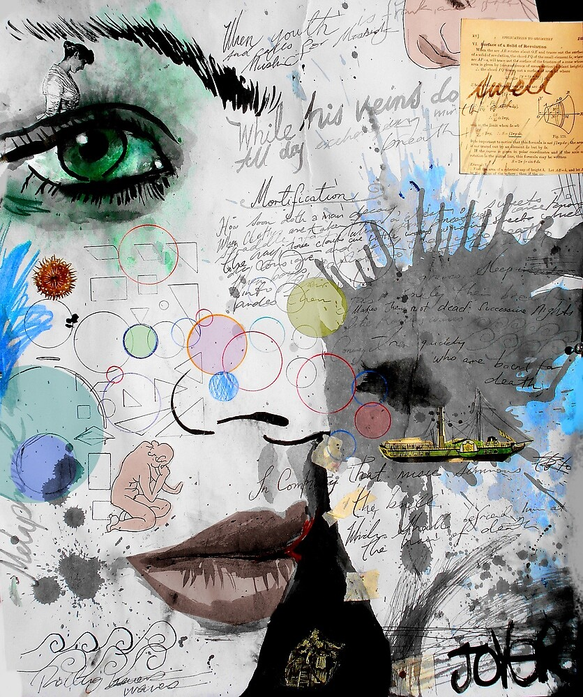 mortification and myth by Loui  Jover
