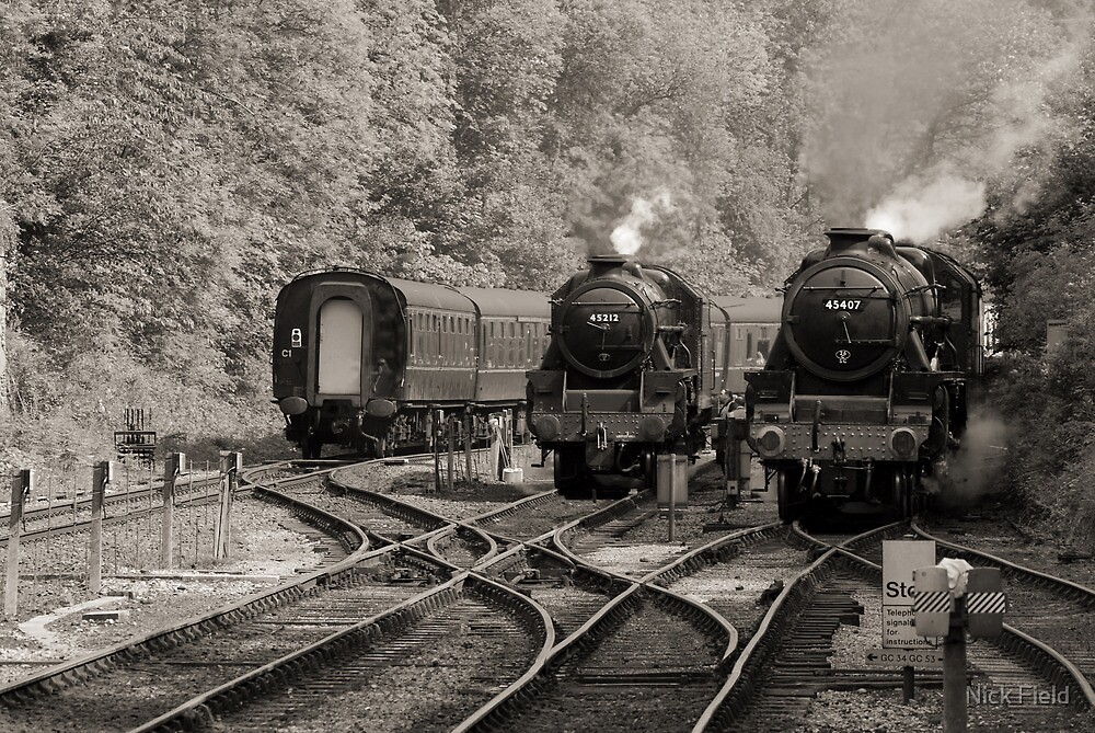 The Age of Steam by Nick Field