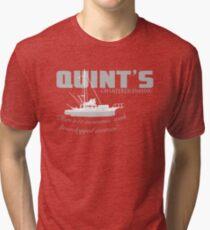 Quint's Chartered Fishing Tri-blend T-Shirt